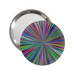 Burst Colors Ray Speed Vortex 2 25  Handbag Mirrors by Celenk