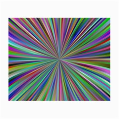 Burst Colors Ray Speed Vortex Small Glasses Cloth by Celenk