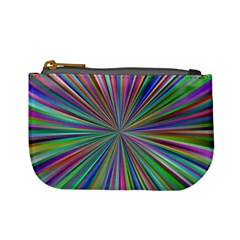 Burst Colors Ray Speed Vortex Mini Coin Purses by Celenk