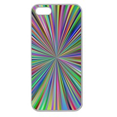 Burst Colors Ray Speed Vortex Apple Seamless Iphone 5 Case (clear)