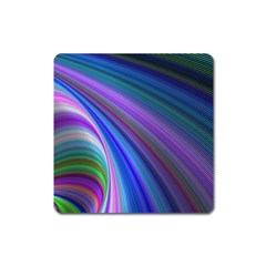 Background Abstract Curves Square Magnet