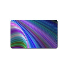 Background Abstract Curves Magnet (name Card) by Celenk