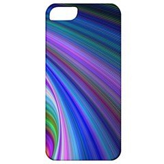 Background Abstract Curves Apple Iphone 5 Classic Hardshell Case by Celenk