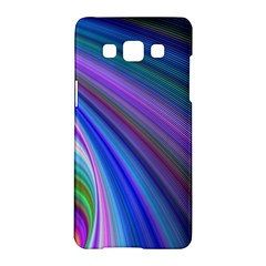 Background Abstract Curves Samsung Galaxy A5 Hardshell Case
