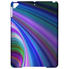 Background Abstract Curves Apple Ipad Pro 9 7   Hardshell Case by Celenk