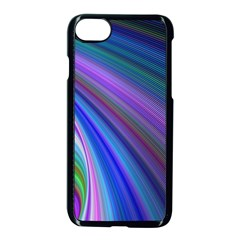 Background Abstract Curves Apple Iphone 7 Seamless Case (black) by Celenk