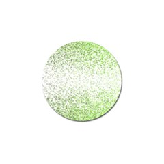 Green Square Background Color Mosaic Golf Ball Marker (10 Pack) by Celenk