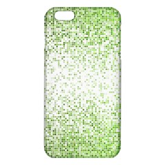 Green Square Background Color Mosaic Iphone 6 Plus/6s Plus Tpu Case by Celenk