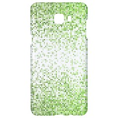 Green Square Background Color Mosaic Samsung C9 Pro Hardshell Case