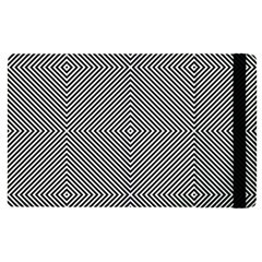 Diagonal Stripe Pattern Seamless Apple Ipad Pro 9 7   Flip Case by Celenk