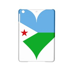 Heart Love Flag Djibouti Star Ipad Mini 2 Hardshell Cases by Celenk