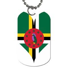 Heart Love Flag Antilles Island Dog Tag (two Sides)