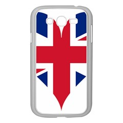 Heart Love Heart Shaped Flag Samsung Galaxy Grand Duos I9082 Case (white) by Celenk