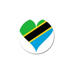 Heart Love Tanzania East Africa Golf Ball Marker (4 Pack)