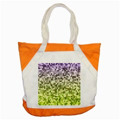 Irregular Rectangle Square Mosaic Accent Tote Bag by Celenk