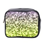Irregular Rectangle Square Mosaic Mini Toiletries Bag 2-Side Front