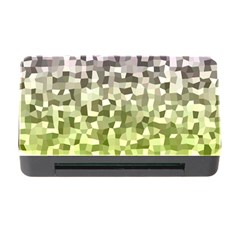 Irregular Rectangle Square Mosaic Memory Card Reader With Cf by Celenk