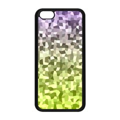 Irregular Rectangle Square Mosaic Apple Iphone 5c Seamless Case (black) by Celenk
