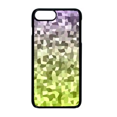 Irregular Rectangle Square Mosaic Apple Iphone 8 Plus Seamless Case (black) by Celenk