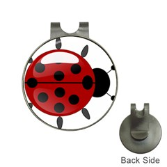 Ladybug Insects Colors Alegre Hat Clips With Golf Markers