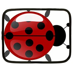 Ladybug Insects Colors Alegre Netbook Case (xxl)  by Celenk