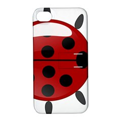 Ladybug Insects Colors Alegre Apple Iphone 4/4s Hardshell Case With Stand by Celenk