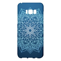 Mandala Floral Ornament Pattern Samsung Galaxy S8 Plus Hardshell Case  by Celenk