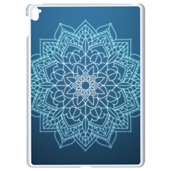 Mandala Floral Ornament Pattern Apple Ipad Pro 9 7   White Seamless Case by Celenk