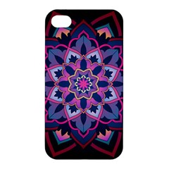 Mandala Circular Pattern Apple Iphone 4/4s Premium Hardshell Case by Celenk