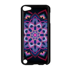 Mandala Circular Pattern Apple Ipod Touch 5 Case (black) by Celenk