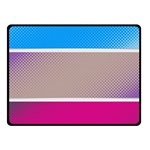 Pattern Template Banner Background Fleece Blanket (Small) 50 x40 Blanket Front