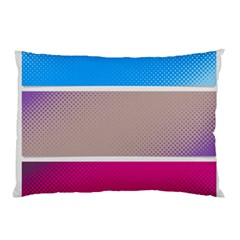 Pattern Template Banner Background Pillow Case (two Sides)