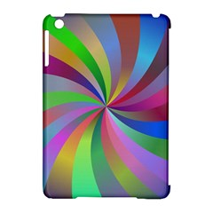 Spiral Background Design Swirl Apple Ipad Mini Hardshell Case (compatible With Smart Cover) by Celenk