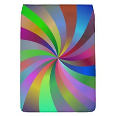 Spiral Background Design Swirl Flap Covers (l)  by Celenk