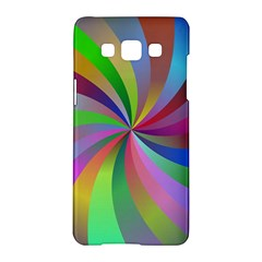 Spiral Background Design Swirl Samsung Galaxy A5 Hardshell Case  by Celenk