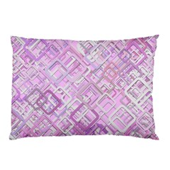 Pink Modern Background Square Pillow Case (two Sides)