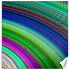 Motion Fractal Background Canvas 16  X 16   by Celenk