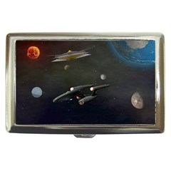 Space Travel Spaceship Space Cigarette Money Cases by Celenk