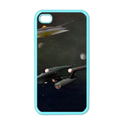 Space Travel Spaceship Space Apple Iphone 4 Case (color) by Celenk