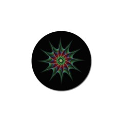 Star Abstract Burst Starburst Golf Ball Marker (10 Pack) by Celenk