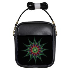 Star Abstract Burst Starburst Girls Sling Bags