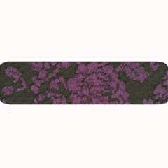 Purple Black Red Fabric Textile Large Bar Mats by Celenk