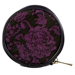 Purple Black Red Fabric Textile Mini Makeup Bags by Celenk