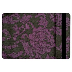 Purple Black Red Fabric Textile Ipad Air 2 Flip by Celenk