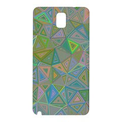 Triangle Background Abstract Samsung Galaxy Note 3 N9005 Hardshell Back Case by Celenk