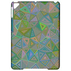 Triangle Background Abstract Apple Ipad Pro 9 7   Hardshell Case by Celenk