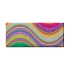 Wave Background Happy Design Cosmetic Storage Cases by Celenk
