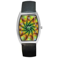 Vision Wallpaper Decoration Barrel Style Metal Watch by Celenk