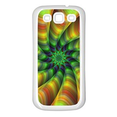 Vision Wallpaper Decoration Samsung Galaxy S3 Back Case (white) by Celenk