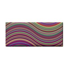 Wave Abstract Happy Background Cosmetic Storage Cases by Celenk
